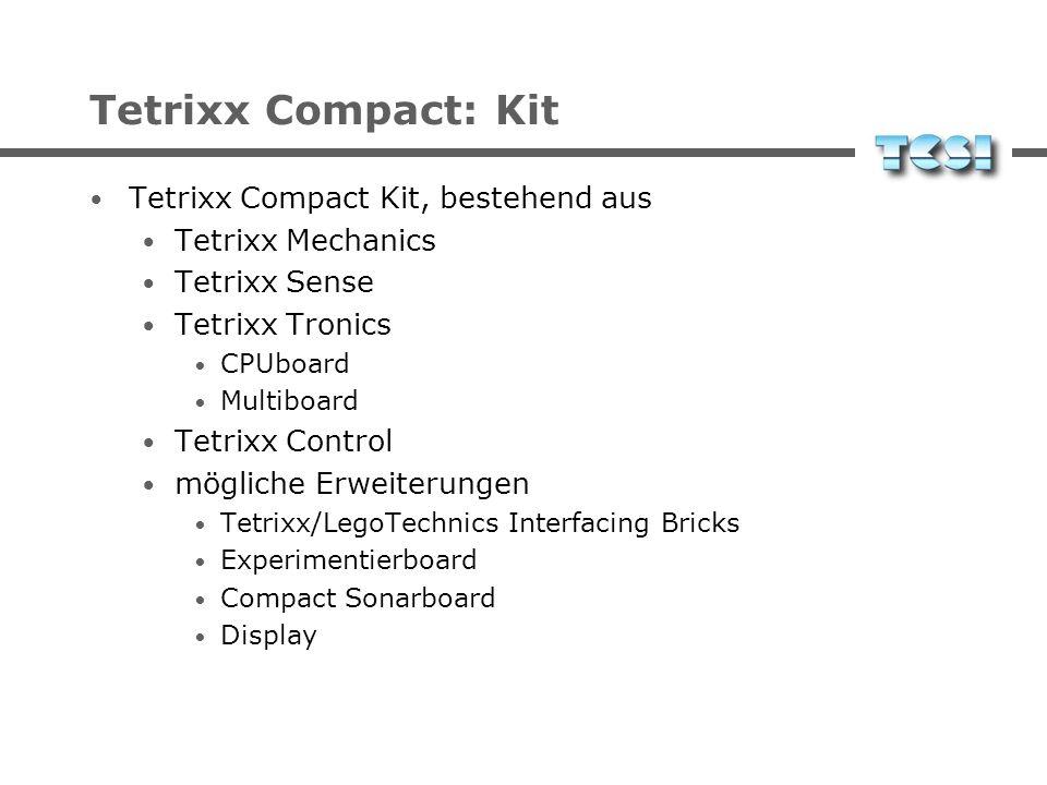 Tetrixx Compact: Kit Tetrixx Compact Kit, bestehend aus