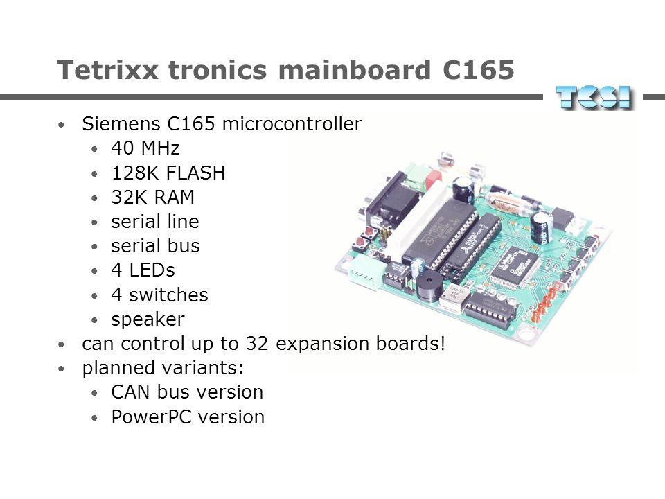 Tetrixx tronics mainboard C165