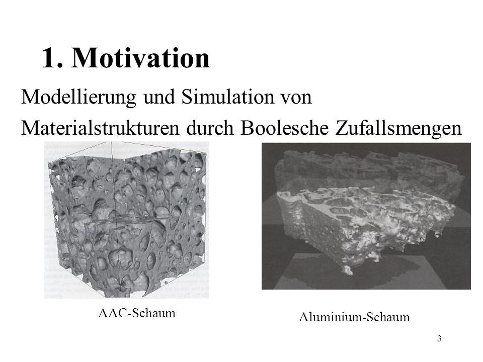 1. Motivation Modellierung und Simulation von