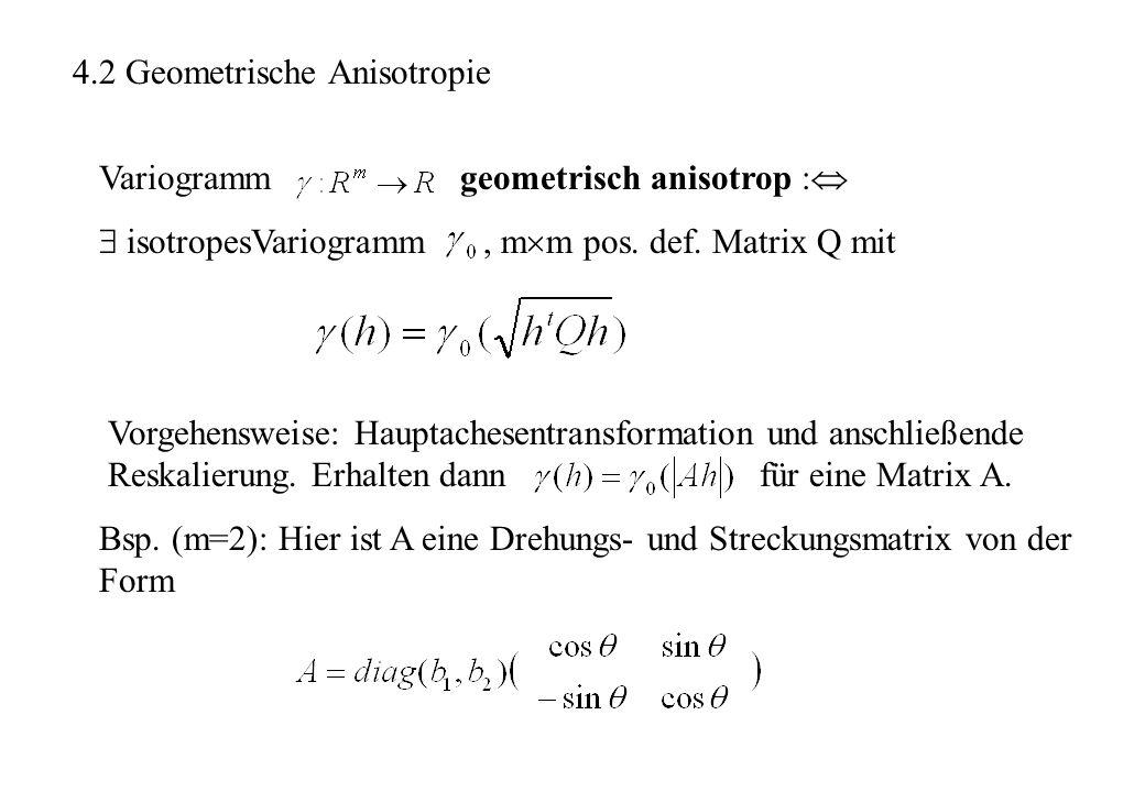 4.2 Geometrische Anisotropie