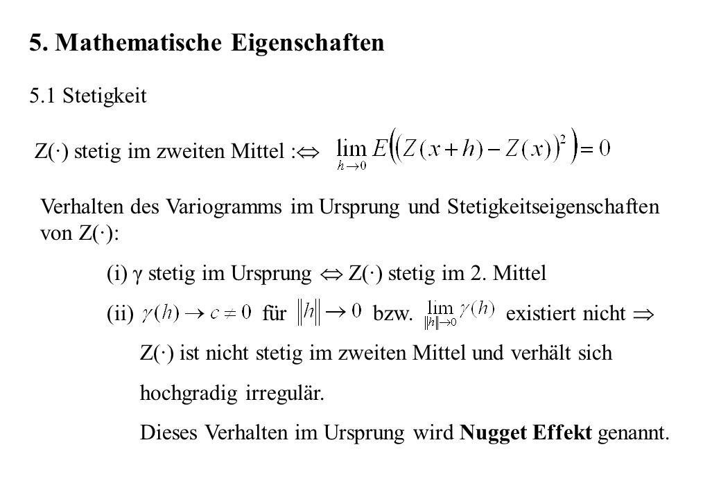 5. Mathematische Eigenschaften