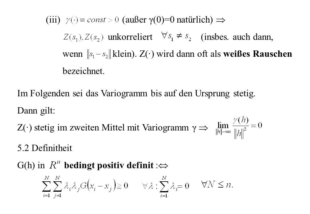 (iii) (außer γ(0)=0 natürlich) 