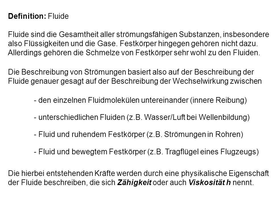 Definition: Fluide
