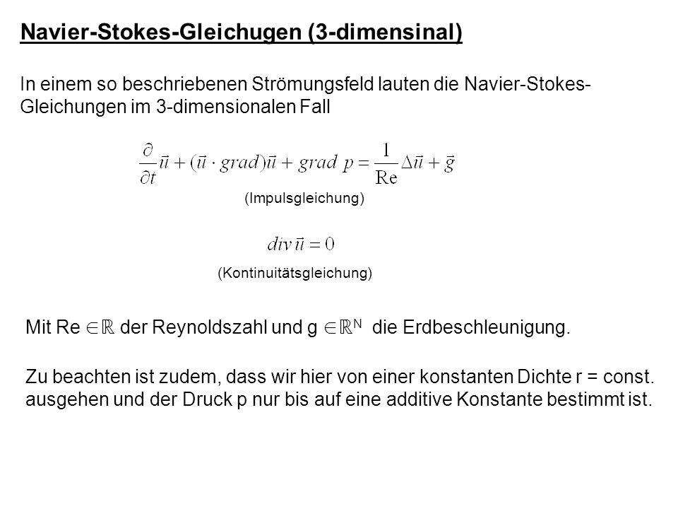Navier-Stokes-Gleichugen (3-dimensinal)