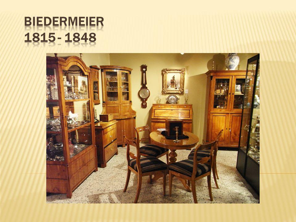 Biedermeier 1815 - 1848