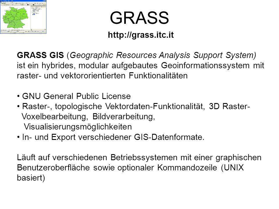 GRASS http://grass.itc.it
