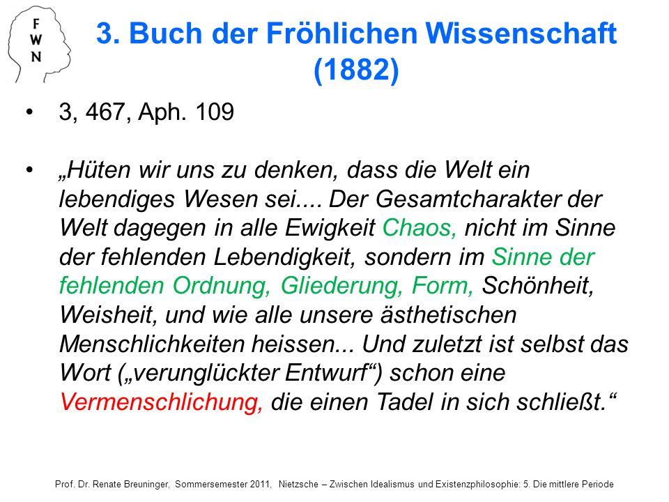 3. Buch der Fröhlichen Wissenschaft (1882)