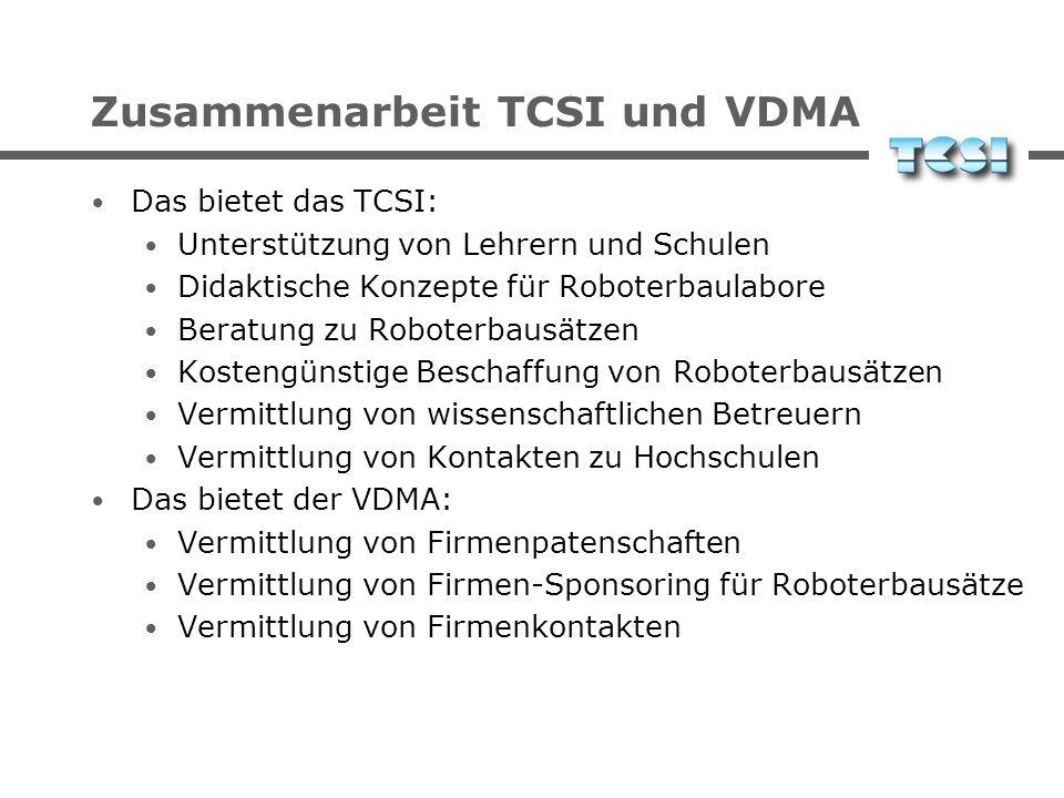 Zusammenarbeit TCSI und VDMA