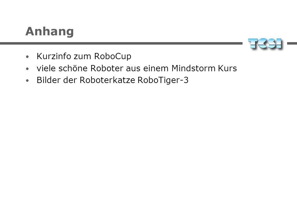 Anhang Kurzinfo zum RoboCup