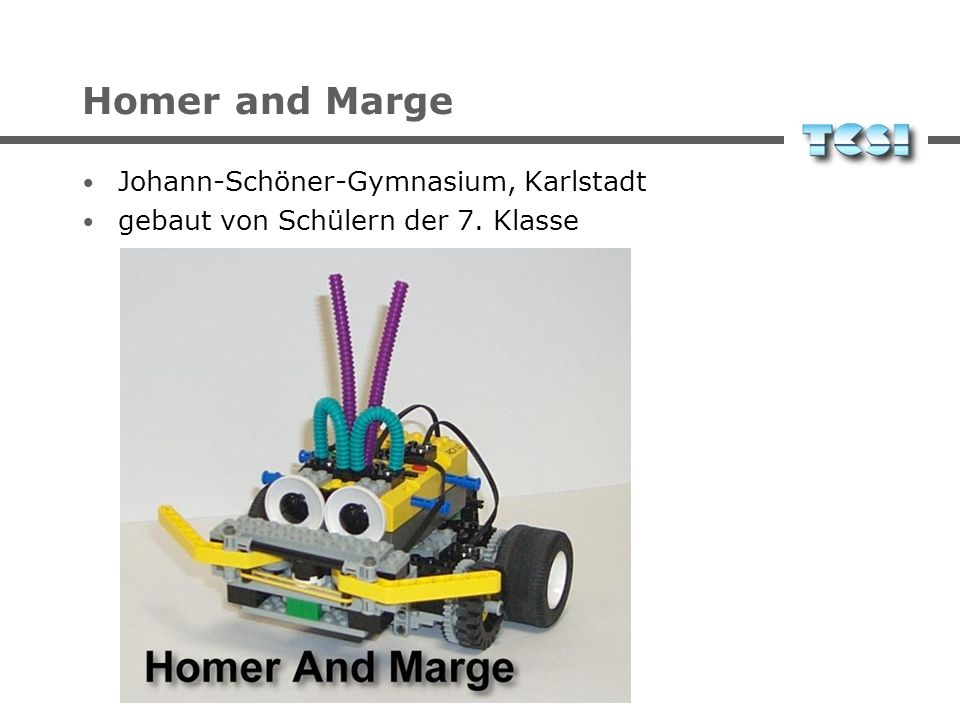 Homer and Marge Johann-Schöner-Gymnasium, Karlstadt