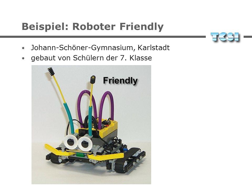 Beispiel: Roboter Friendly