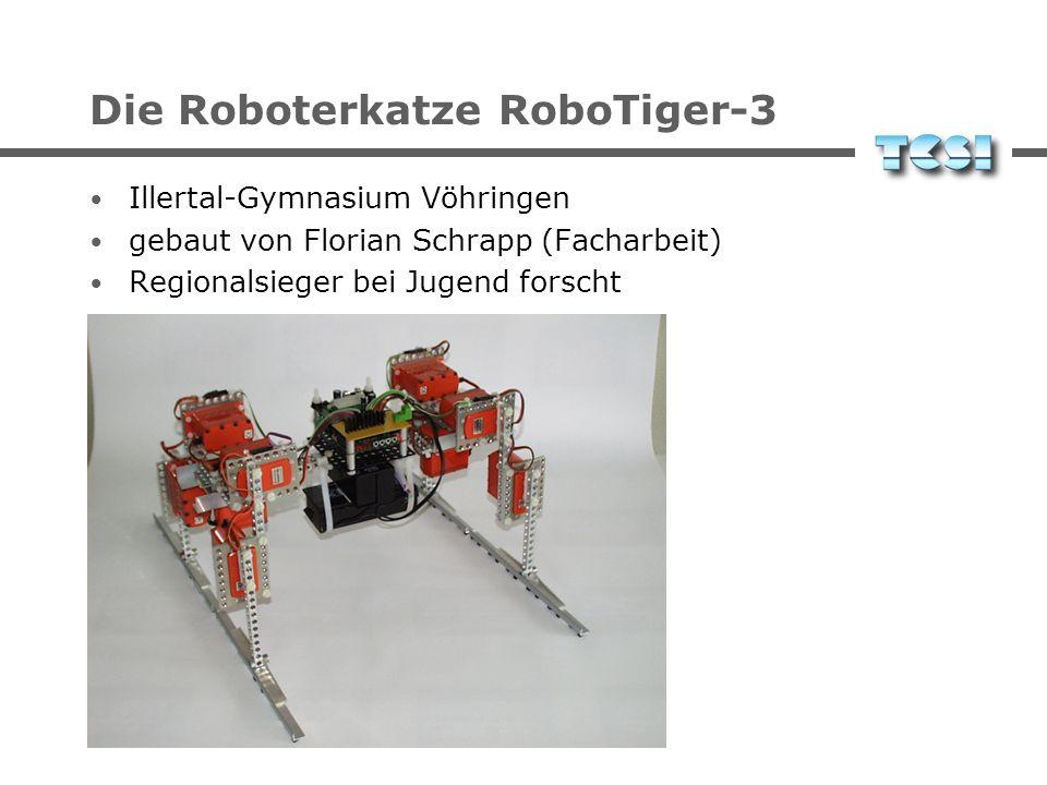 Die Roboterkatze RoboTiger-3