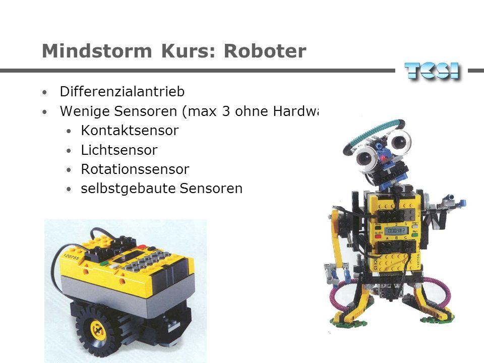 Mindstorm Kurs: Roboter