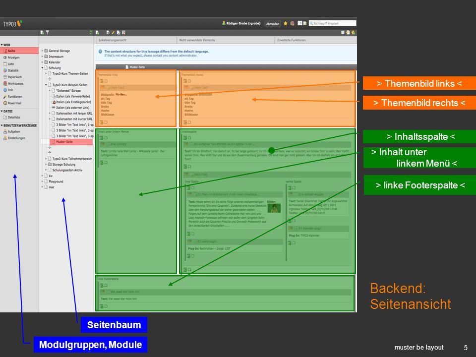 Backend: Seitenansicht > Themenbild links <