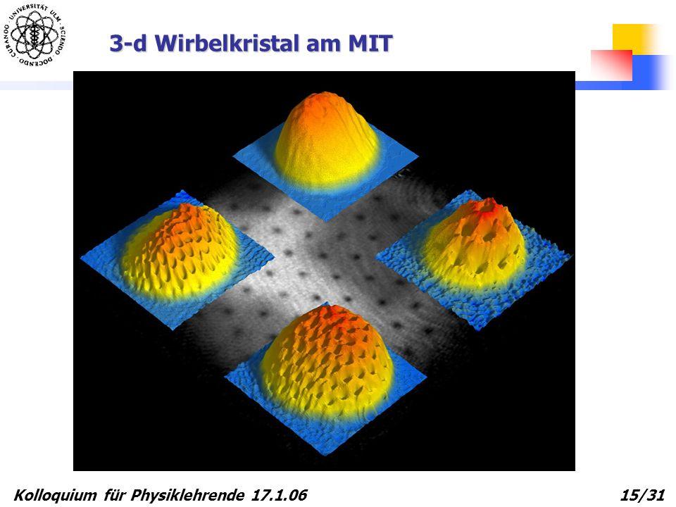 3-d Wirbelkristal am MIT