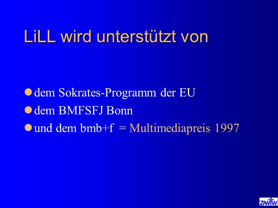 LiLL wird unterstützt von