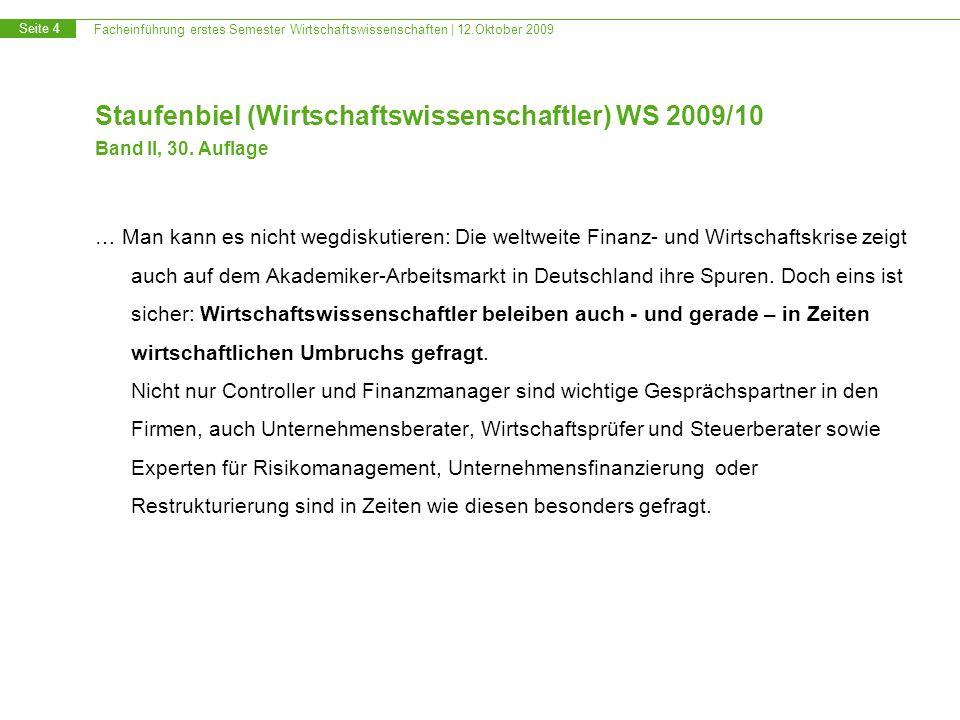 Staufenbiel (Wirtschaftswissenschaftler) WS 2009/10 Band II, 30
