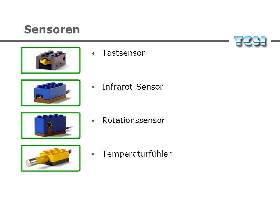 Sensoren Tastsensor Infrarot-Sensor Rotationssensor Temperaturfühler