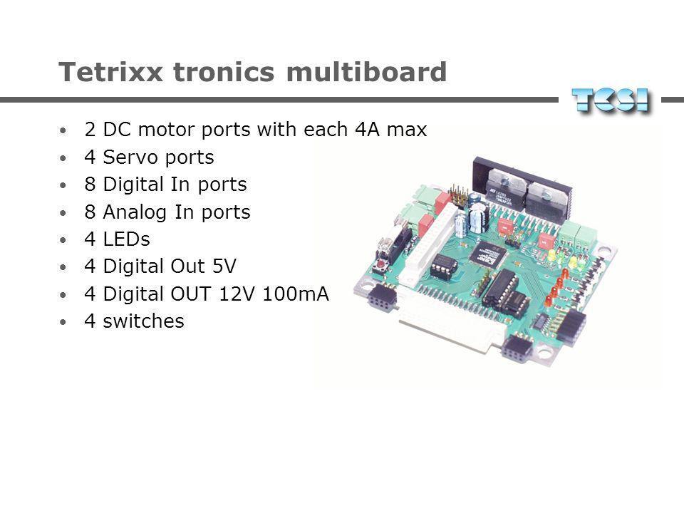 Tetrixx tronics multiboard