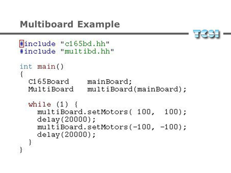 Multiboard Example
