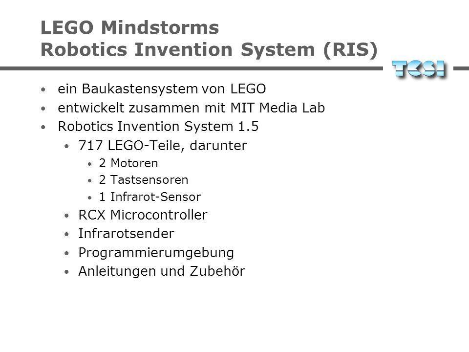 LEGO Mindstorms Robotics Invention System (RIS)