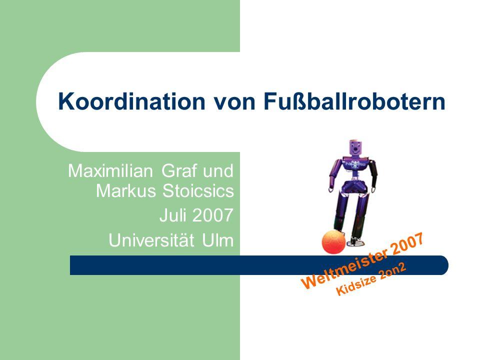 Koordination von Fußballrobotern