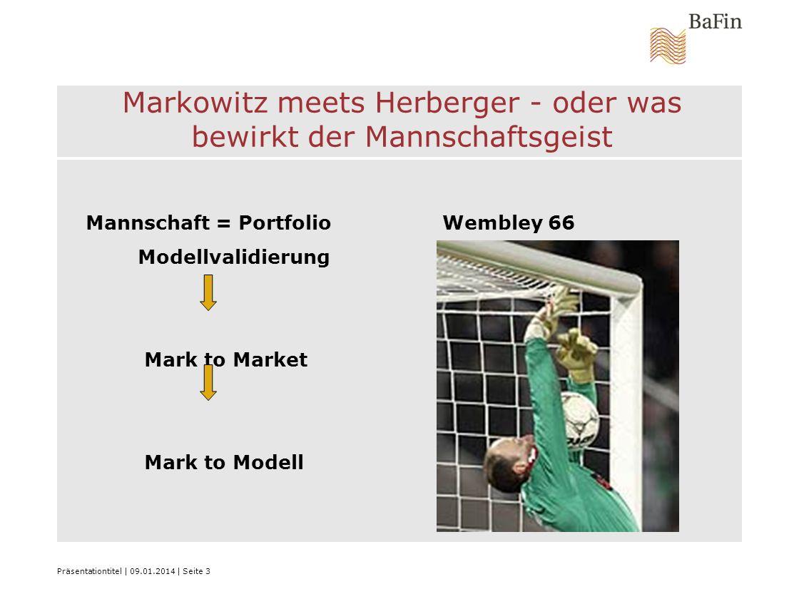 Markowitz meets Herberger - oder was bewirkt der Mannschaftsgeist