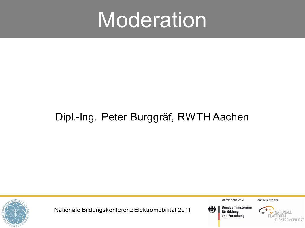 Dipl.-Ing. Peter Burggräf, RWTH Aachen