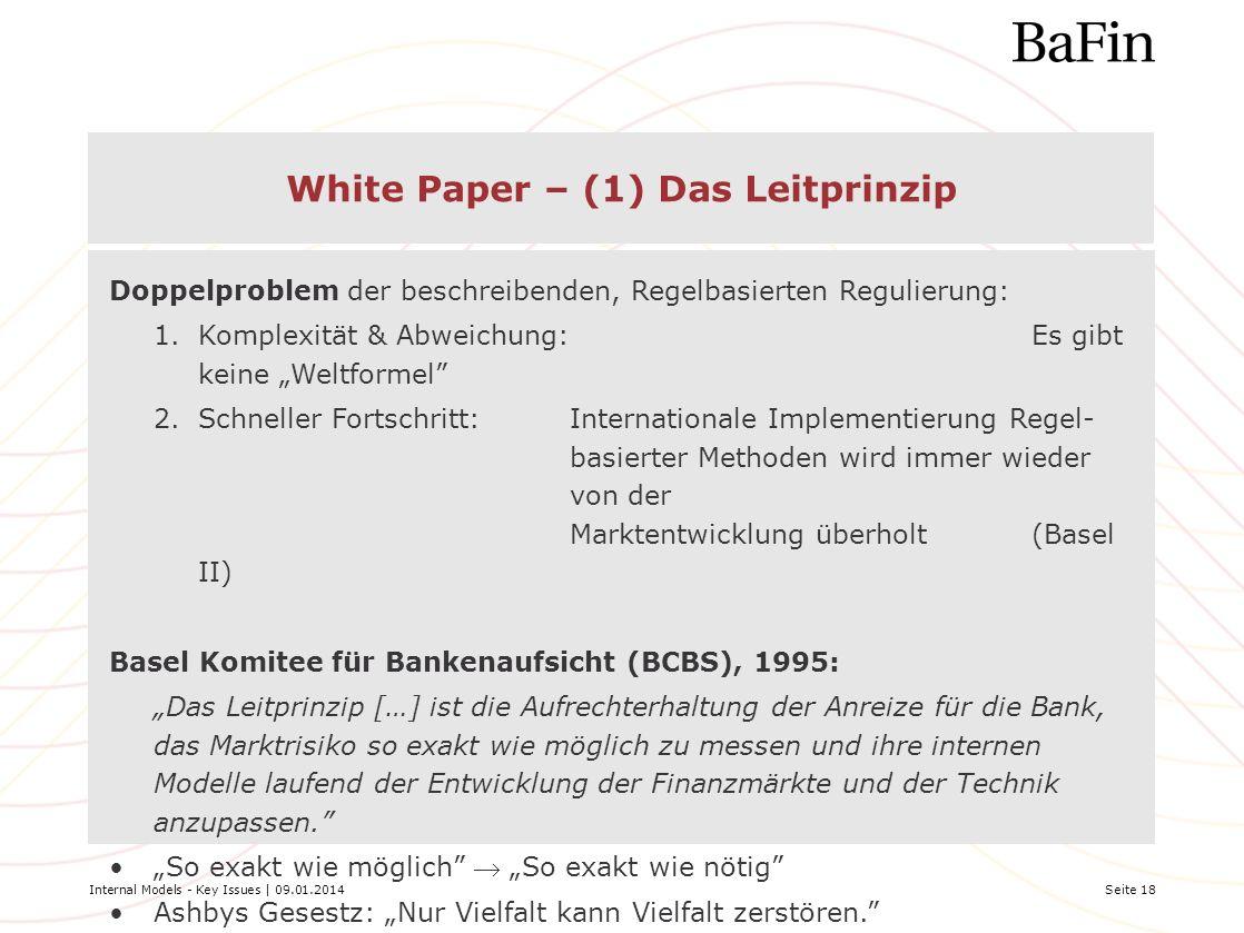 White Paper – (1) Das Leitprinzip
