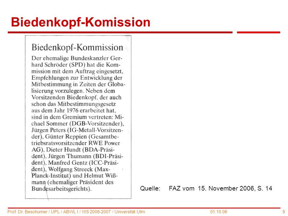 Biedenkopf-Komission