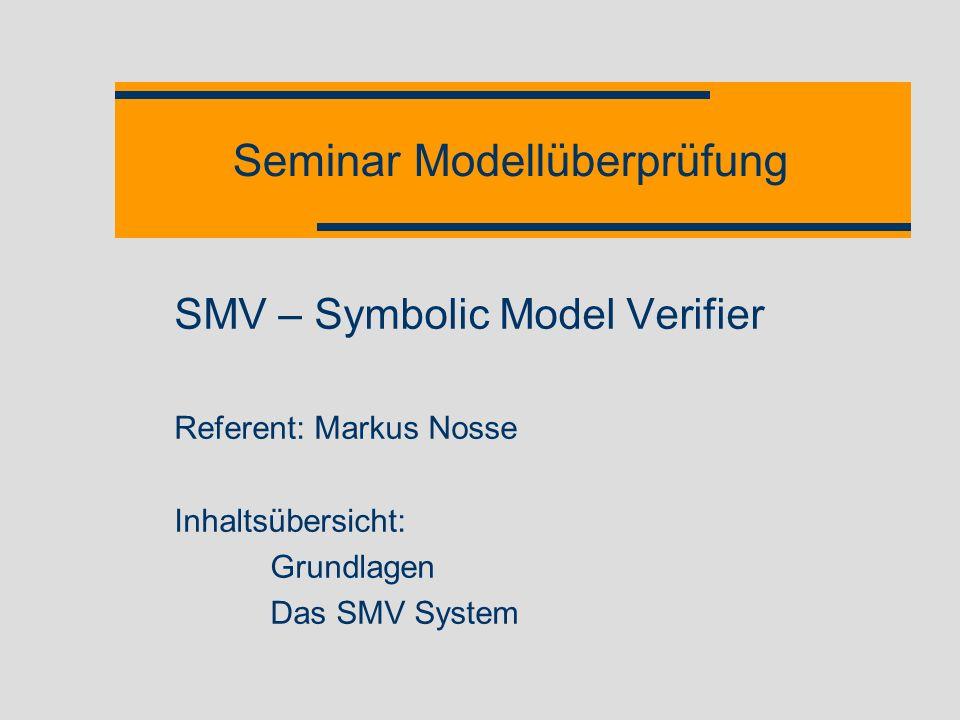 Seminar Modellüberprüfung