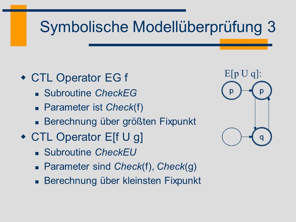 Symbolische Modellüberprüfung 3