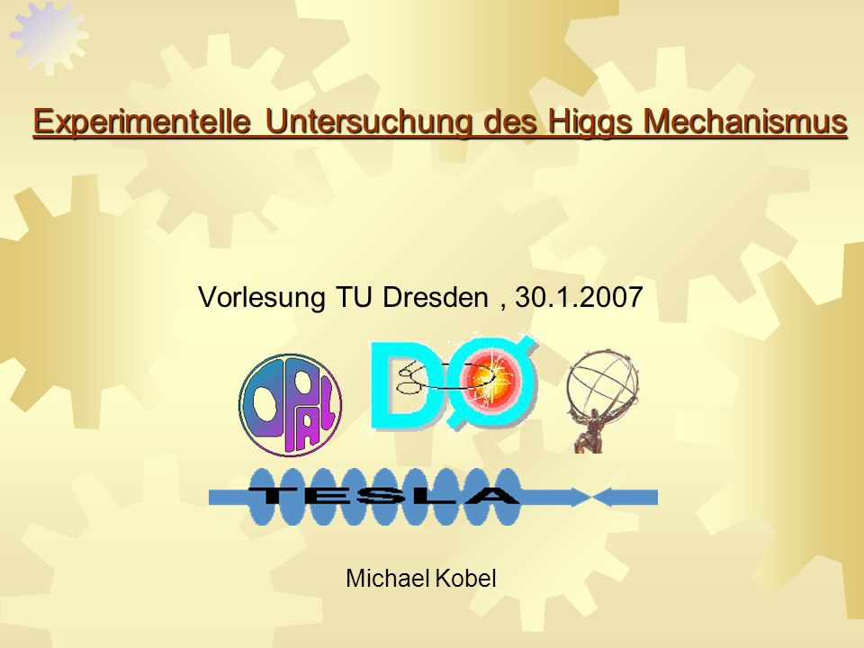 Experimentelle Untersuchung des Higgs Mechanismus