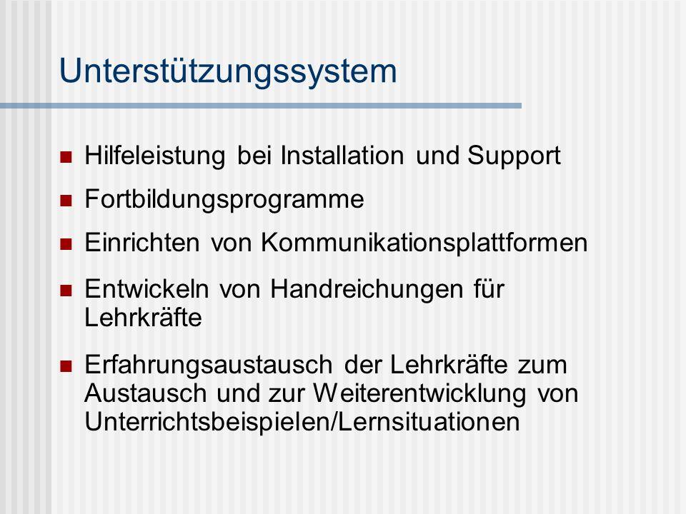 Unterstützungssystem
