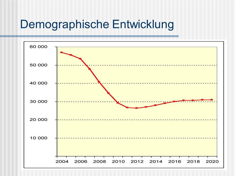 Demographische Entwicklung