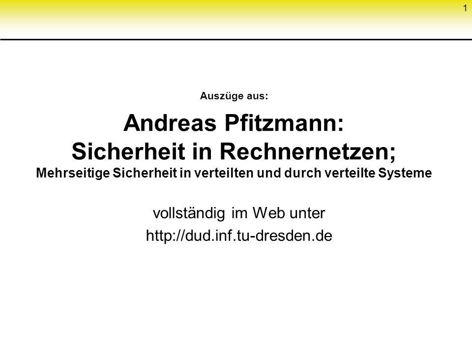 vollständig im Web unter http://dud.inf.tu-dresden.de
