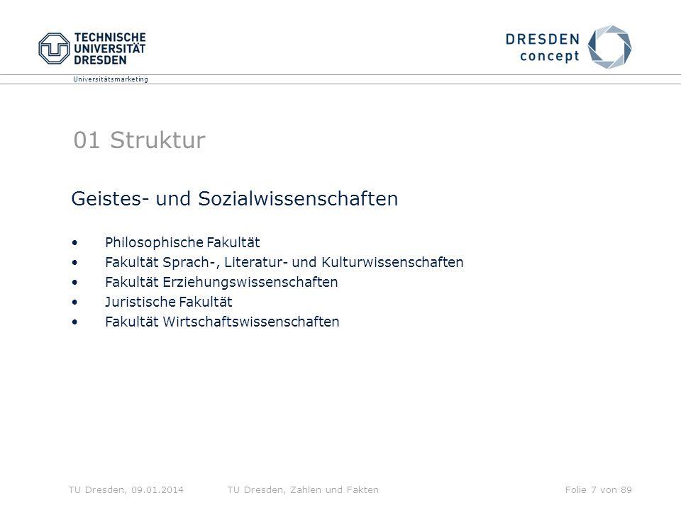 01 Struktur Geistes- und Sozialwissenschaften Philosophische Fakultät