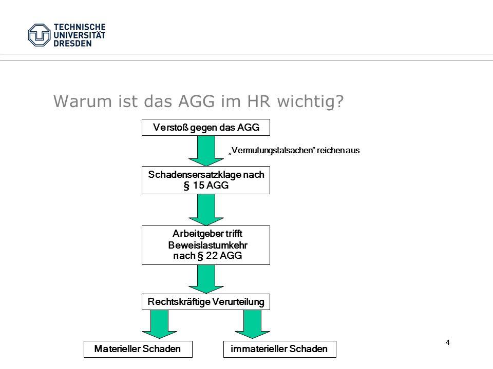 Warum ist das AGG im HR wichtig