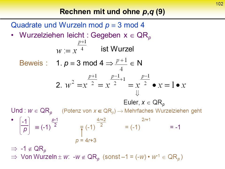 Rechnen mit und ohne p,q (9)