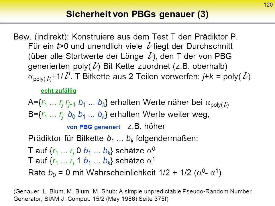 Sicherheit von PBGs genauer (3)