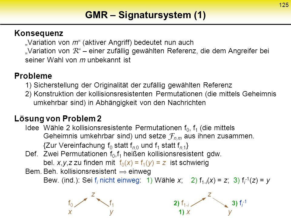 GMR – Signatursystem (1)