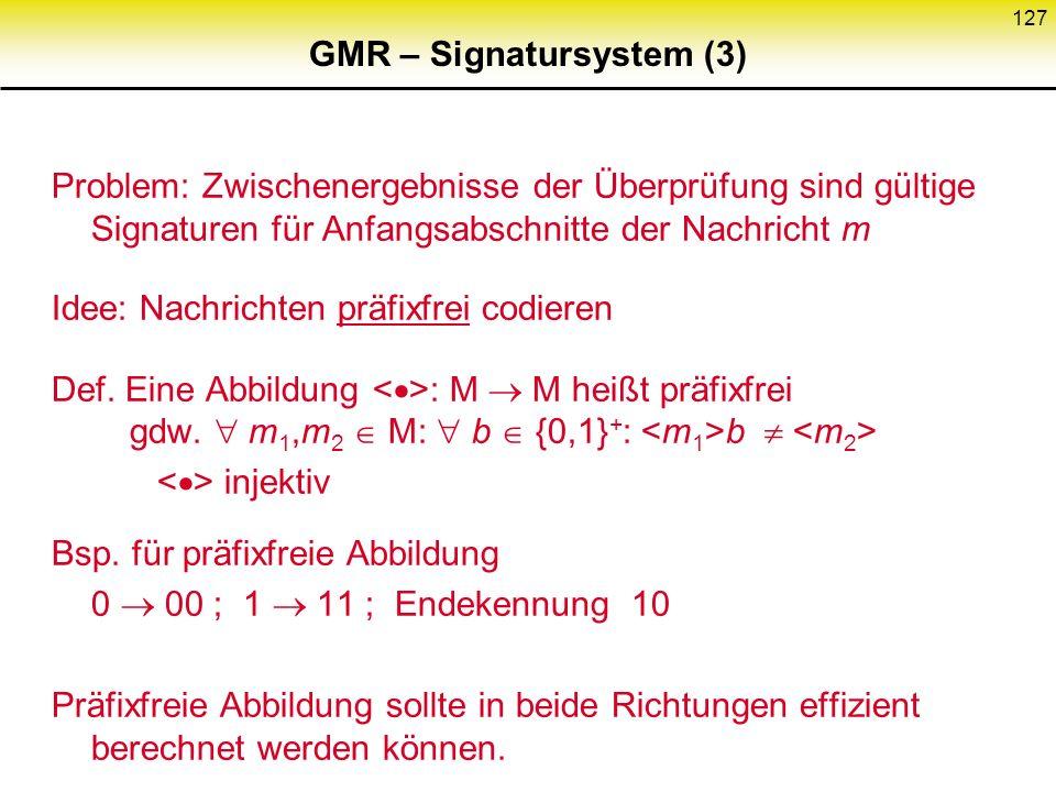 GMR – Signatursystem (3)