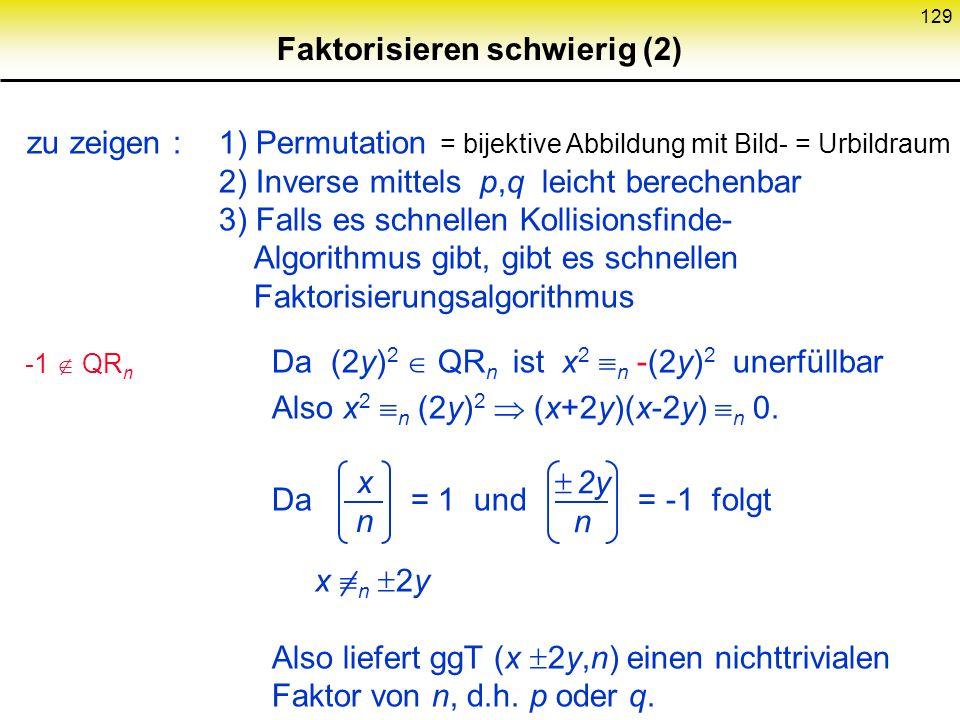Faktorisieren schwierig (2)