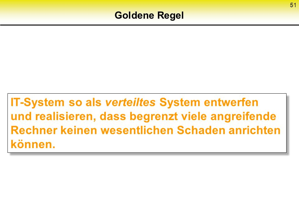Goldene Regel