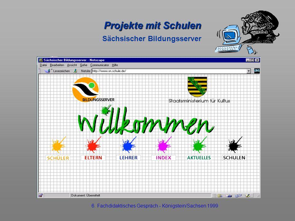 Projekte mit Schulen Sächsischer Bildungsserver