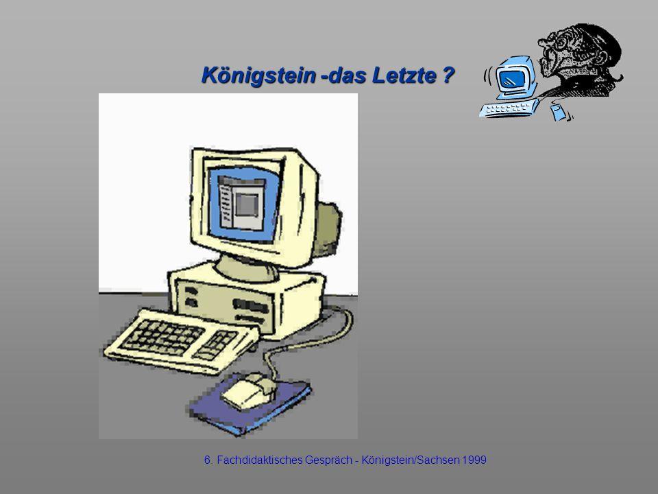 Königstein -das Letzte