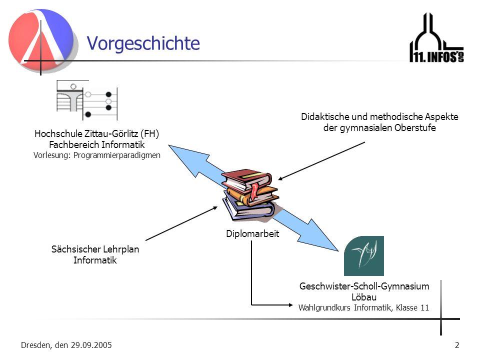 Vorgeschichte Didaktische und methodische Aspekte