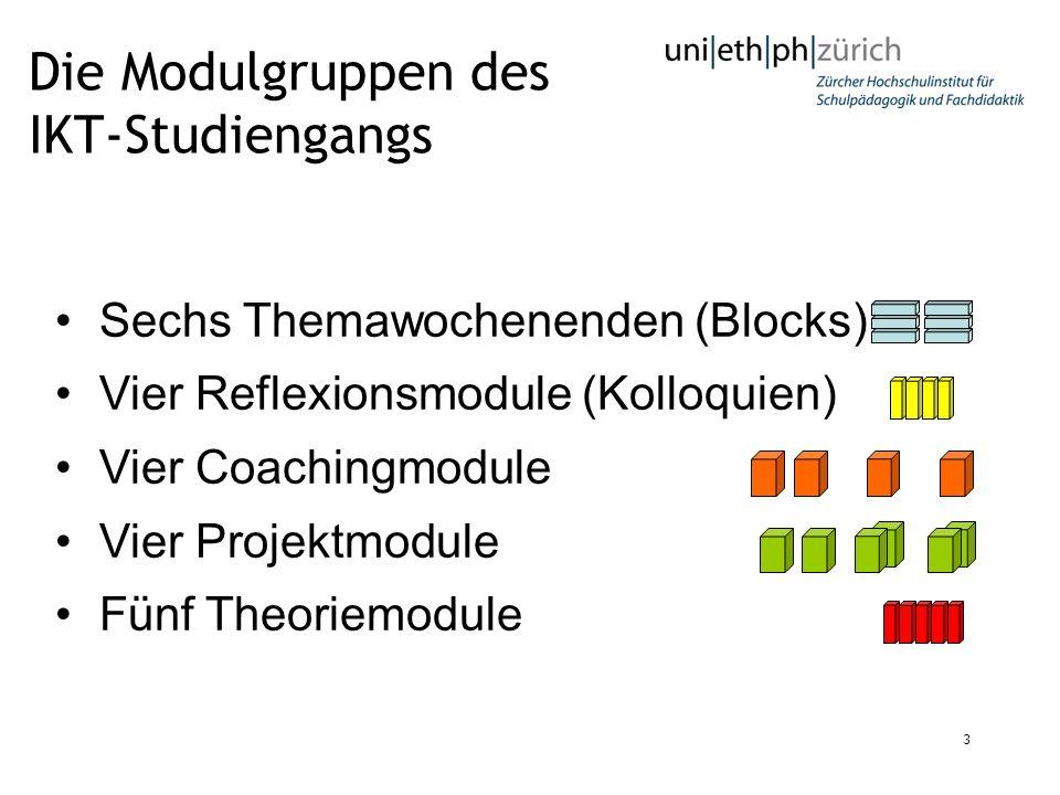 Die Modulgruppen des IKT-Studiengangs