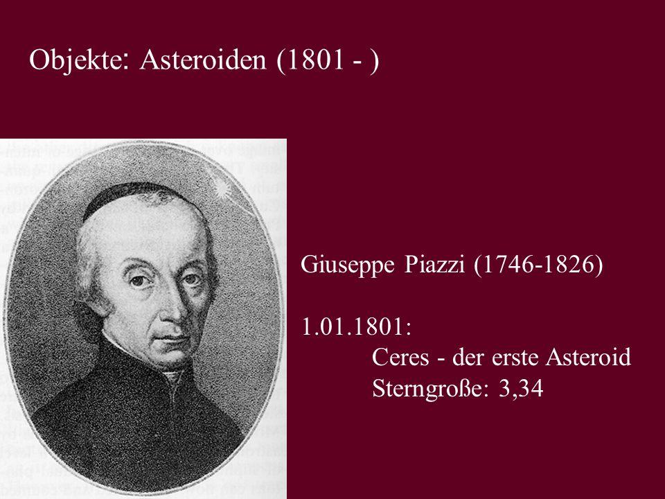 Objekte: Asteroiden (1801 - )