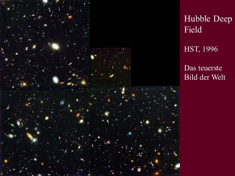 Hubble Deep Field HST, 1996 Das teuerste Bild der Welt